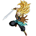 Gotenks - Xeno (Super Saiyan 3) (Artwork)