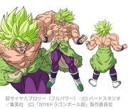 Broly (Full Power) par Naohiro Shintani