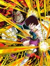 Dokkan Battle Tenacious Battlefield Diva Fasha (Great Ape) card (Base Form UR)