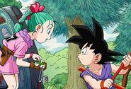Goku conoce a Bulma (DB Origins)