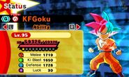 KF SSB Goku (SSG Goku)