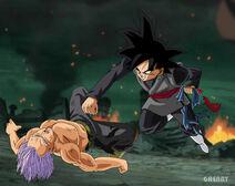 Black Final kick