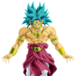 Broly Super Saiyan limitato