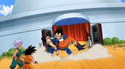 DBS Vegeta catches Goku 455234