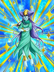 Dokkan Battle Mysterious Princess Oto Oceanus Shenron (Princess Oto) card