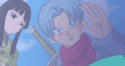 Future Trunks farewell