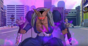 SDBH World Mission Ch2 Sub Ch2-Hero Town in Danger! Game World Organization of Babidi invades Hero Town of the Real World (Villainous Dabura, Villainous Spopovich, Villainous Yamu)