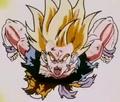 A Final Attack - Goku charging