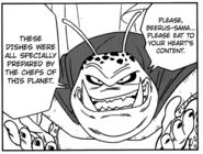 Centipede aliens' King (DBS Manga chapter 1)