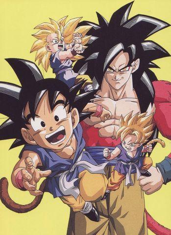 Goku GT Formas Yamamuro