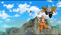 Krillin vs 2nd Fisshi-esque, Resurrection 'F', IsraeliteVIP pic snap