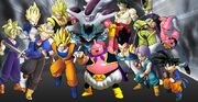 Personajes de Dragon Ball Raging Blast 2