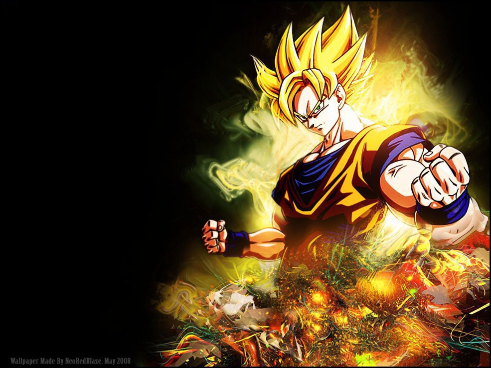 Animepaper Wallpaper Standard Anime Dragon Ball Z A Simple Goku Xd 95288 Neoredblaze Preview 3dd2af3e
