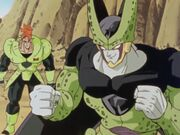 Android 16 and Perfect Cell