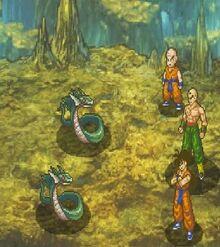 Dragon Ball Z Attack of the Saiyans - Training Island