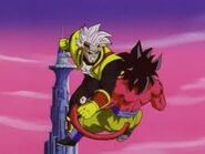 Goku Super Saiyan vs Super Baby Vegeta 2 (6)