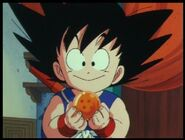 Goku y su esfera