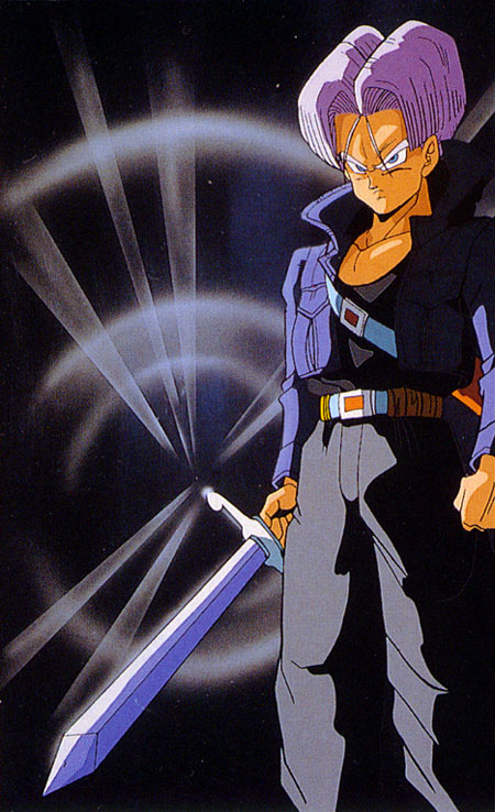 Future Trunks Sword Dragon Ball Wiki Fandom Powered By Wikia