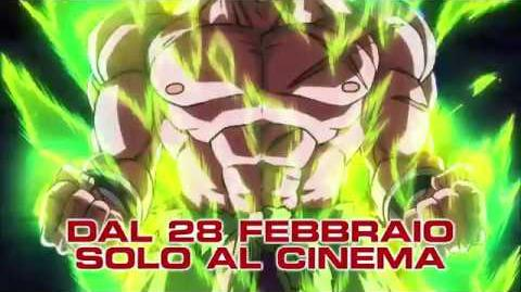 "Dragon Ball Super Broly - Il Film - Spot TV 30"" HD"