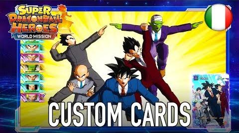 Super Dragon Ball Heroes World Mission - SWITCH PC - Custom Cards (Italiano)