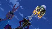 Beerus e Whis lasciano partire Goku e Vegeta nel futuro