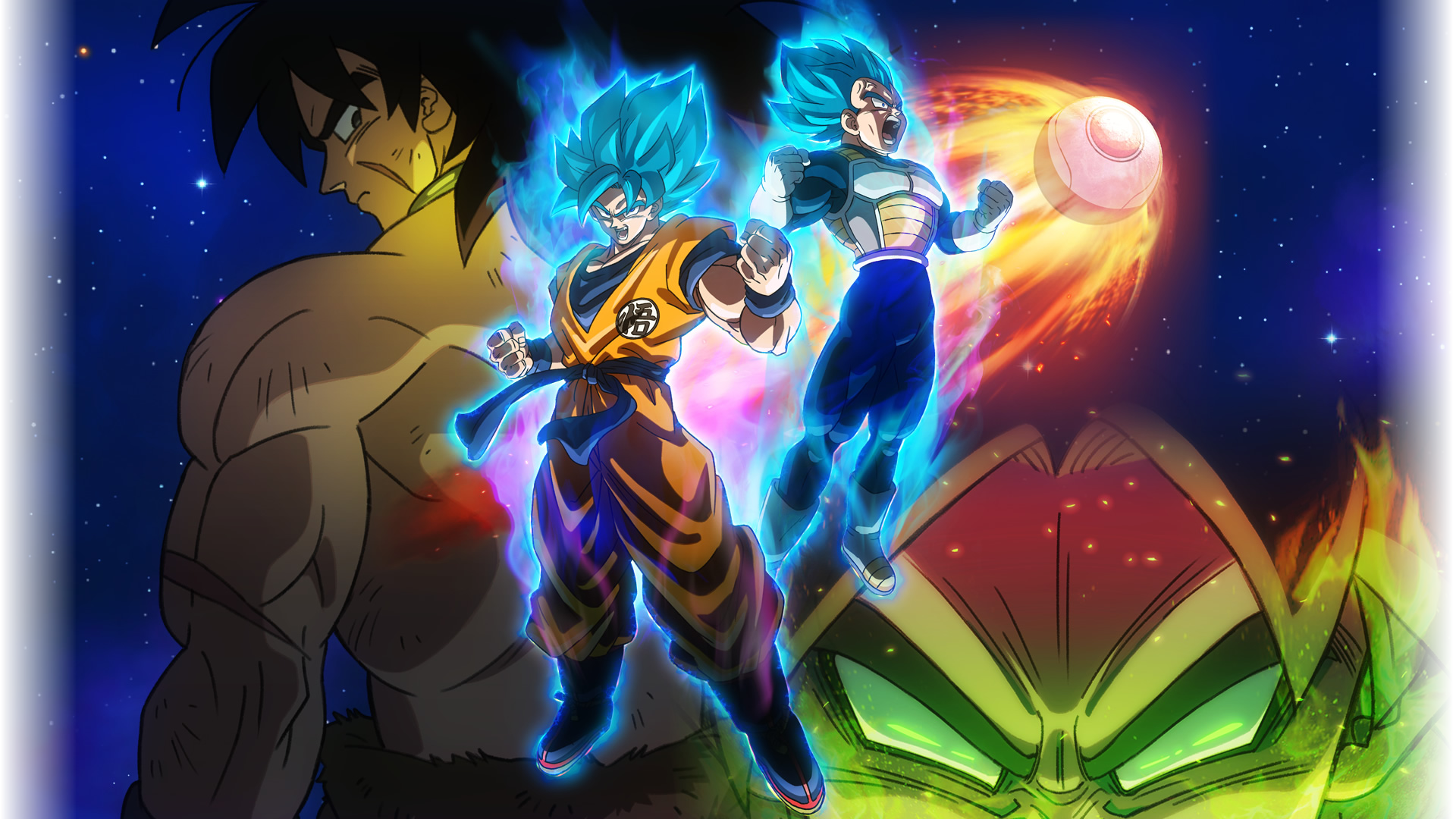 Image - Broly Super Movie Wallpaper.png | Dragon Ball Wiki ...