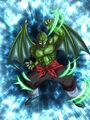 Dokkan Battle Ghoulish Burst Tambourine card (Demon Clansman Tambourine R-SR)