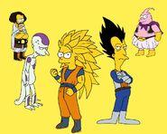 Dragon Ball Simpsons