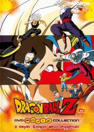 Dragon Ball z il super sayan della leggenda