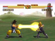 Goku GT vs Vegeta SSJ
