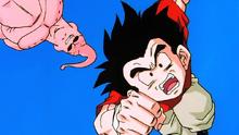 Kuririn tué par Majin Boo