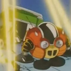 Le Pilaf Machine al Tempio di Dio in Dragon Ball GT.