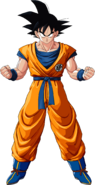 Son Goku artwork DBZK
