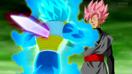 Black Goku vs Vegeta rosé