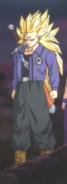 Mirai Trunks SSJ3 en Dragon Ball Heroes HD