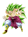 Super Saiyan 3 Legendario Broly artwork Dokkan