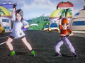Videl and pan dancing parapara