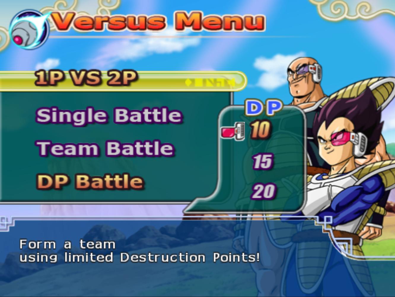 DP Battle (Budokai Tenkaichi 3)   Dragon Ball Wiki   FANDOM