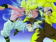 Goku y kid buu
