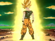 Son Goku se transforma en Super Saiyan por primera vez