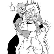 Tupper contro Son Goku - manga