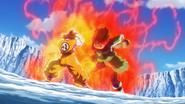 Broly vs. Goku SSG 4