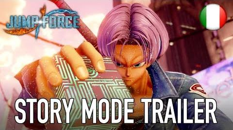 JUMP Force - PS4 XB1 PC - Story Mode trailer (Italiano)