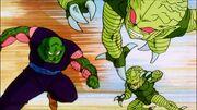 Piccolo vs. Saibamen