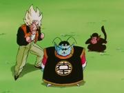 Re Kaioh del Nord aiuta Goku a cercare i namecciani