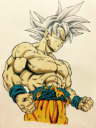 Son Goku Doctrina egoísta Dragon Garow Lee