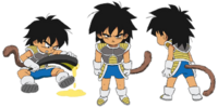 Broly enfant (Artwork Complet)
