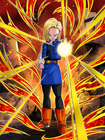 Dokkan Battle Careless Destruction Android 18 (Future) card (Japan Only)