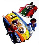 Dub y peter con los autos de sus rivales