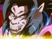 Goku trannsformandose